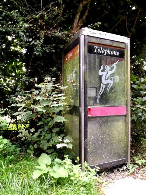 Telephone Box on School Road