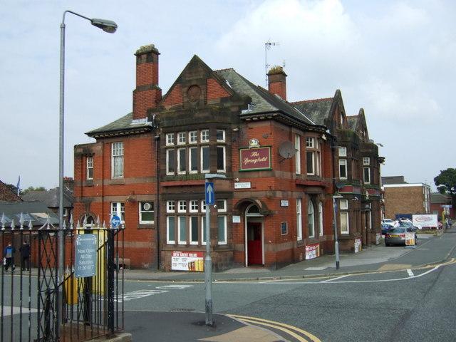 The Springfield pub Thatto Heath