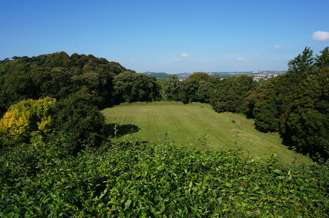 View from Plympton Castle, Plympton St Maurice