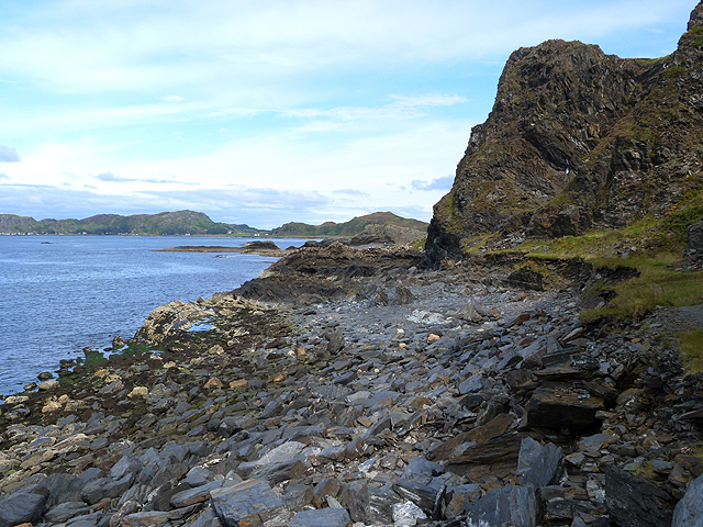 Cliffs to the north of Cullipool