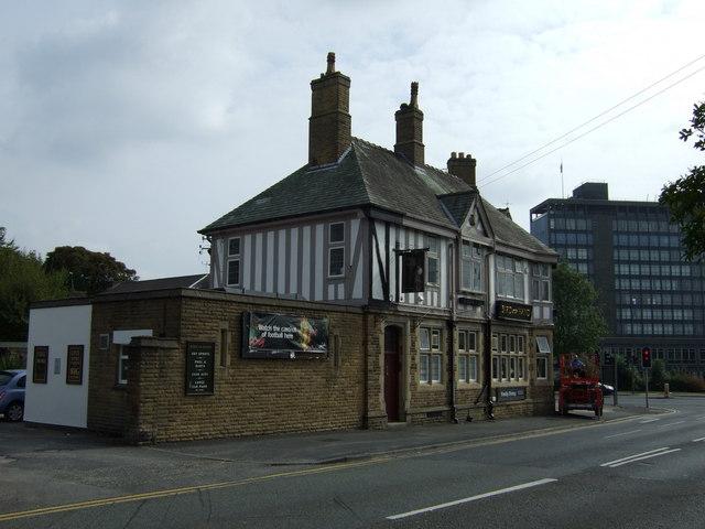 The Bird in Hand pub, West Park