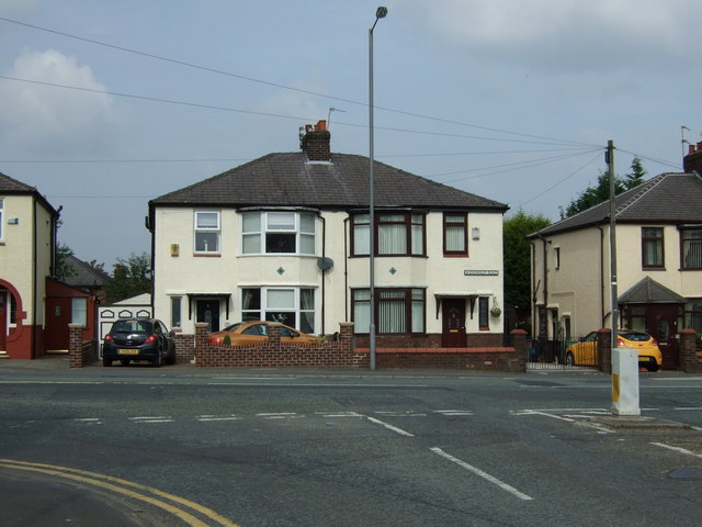 Houses on Knowsley Road