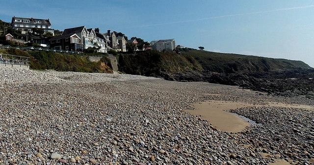 Coastal houses, Langland Bay, Swansea