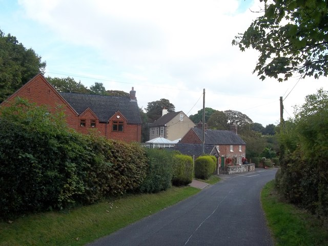 Cottages in Hulland Village