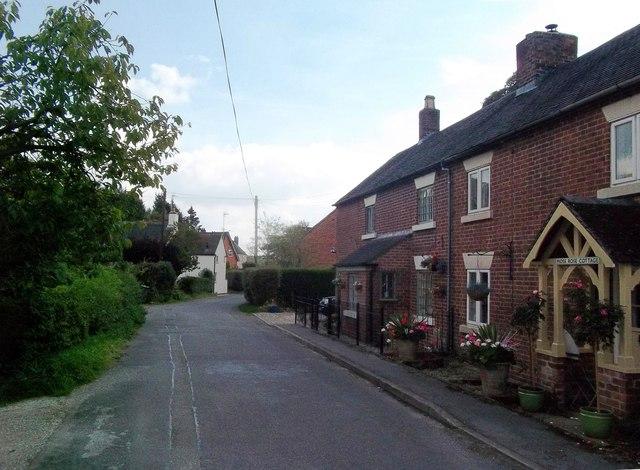 Cottages in Hulland Village