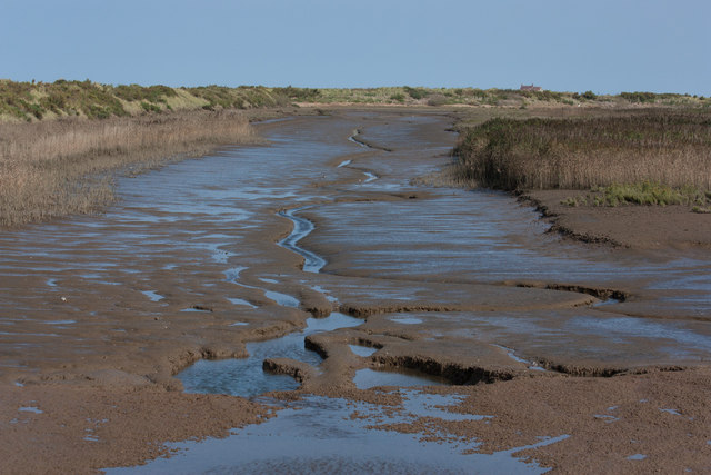 Tidal channel, Titchwell