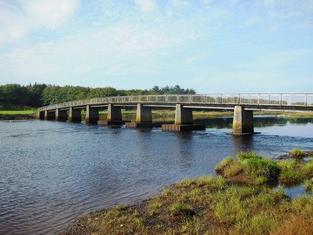 Footbridge over the River Wick