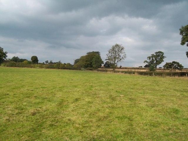 Footpath near Hulland Ward