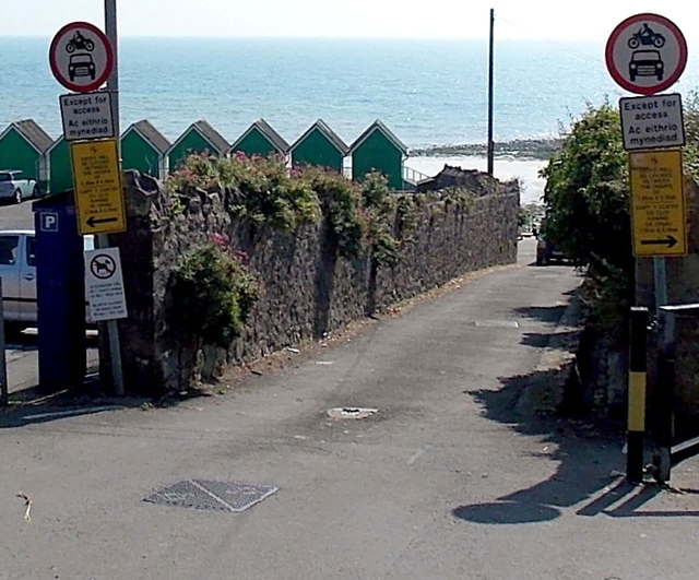 Southern end of Brynfield Road, Langland,  Swansea