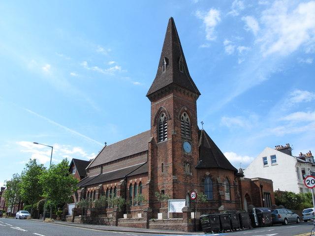St. Luke's Church, Old Shoreham Road / Stanford Road, BN1