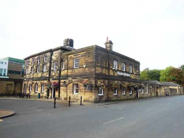 The ' Border Minstrel'  public house