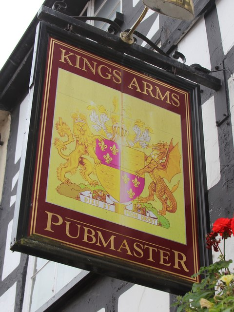 Kings Arms sign