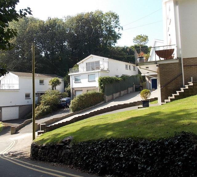 Brynfield Road houses, Langland, Swansea
