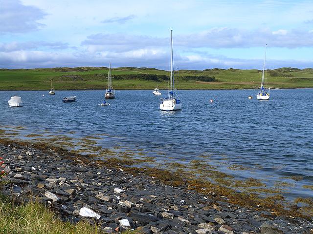 Moorings in Toberonochy Bay