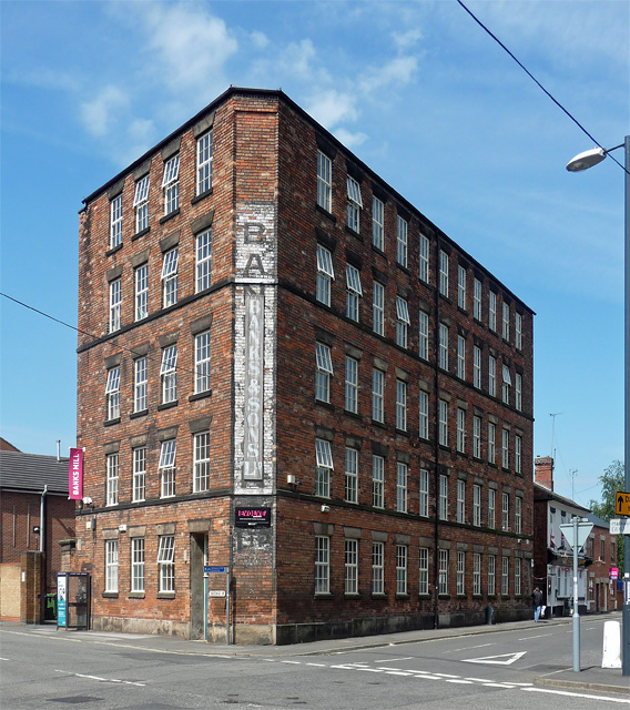 Banks's Mill, Brook Street, Derby