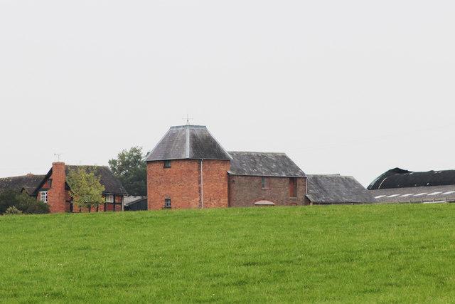 Oast House at Hilltop Farm, Bromyard Road, Tenbury Wells