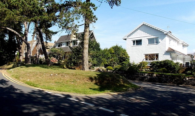 Houses on the east side of Brynfield Road, Langland, Swansea