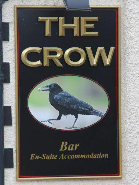 The Crow sign