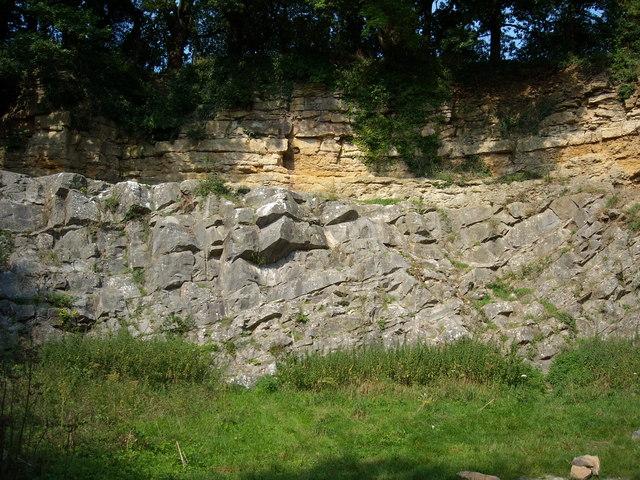 De la Beche Unconformity, Vallis Vale (western end)