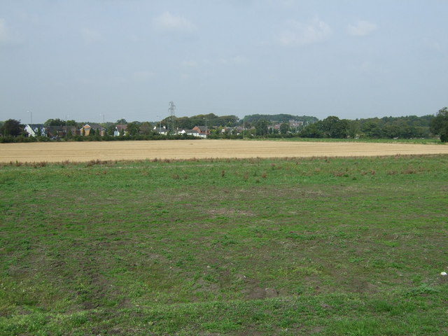 Farmland off Crank Road