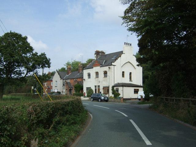 Houses on Crank Road (B52021)