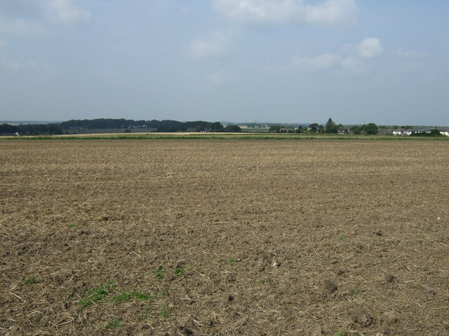 Farmland near Crank