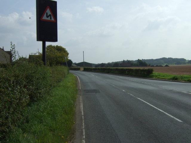 A twisty Gore's Lane (B5205)