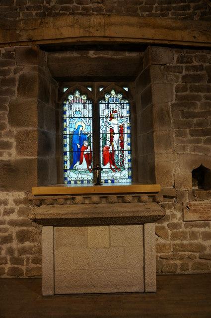 Padley Chapel, altar