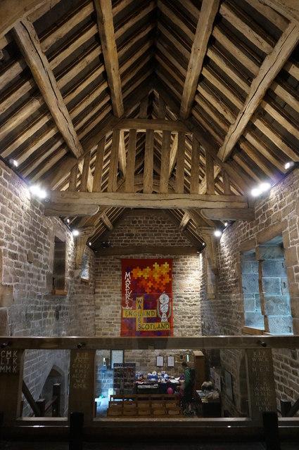 Padley Chapel, interior