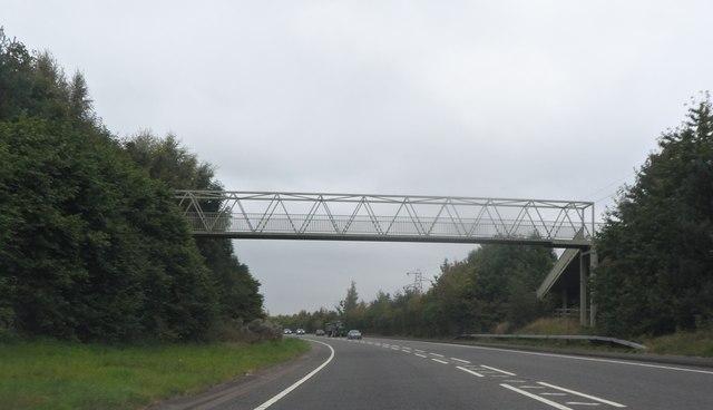 Footbridge over Hams Way