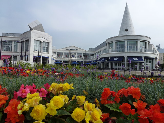 Flowers and The Village, Bluewater Shopping Centre