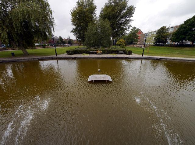 Queen's Gardens Pond