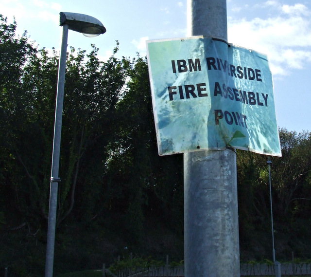 IBM fire assembly point
