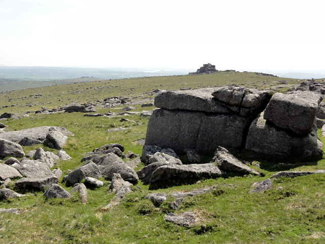 A View of Middle Staple Tor