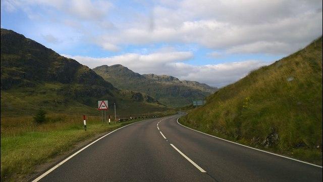 Approaching Loch Restil