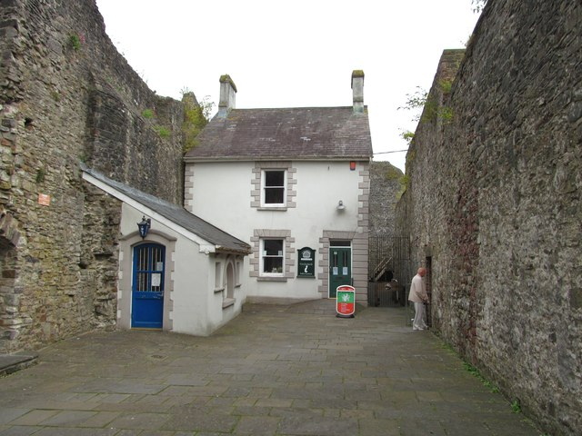 'Handcuff House' Carmarthen