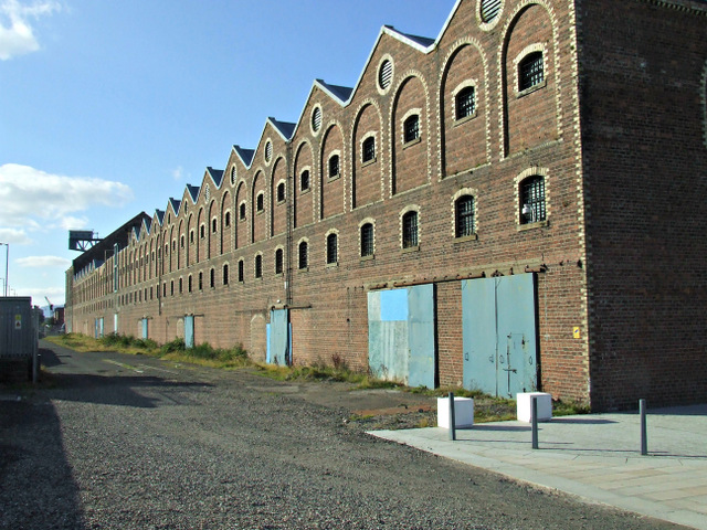 The old sugar sheds