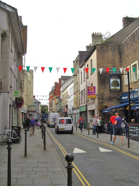 King Street, Carmarthen