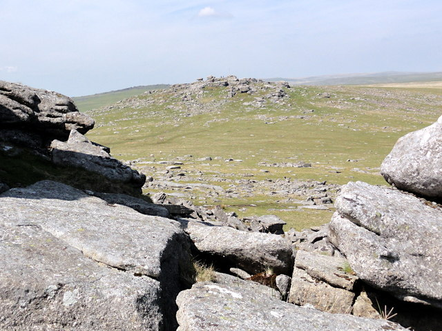 Roos Tor from Great Staple Tor