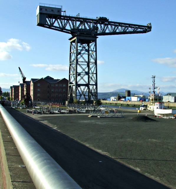James Watt Dock Titan crane