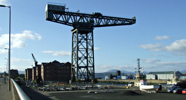 James Watt Dock Titan crane