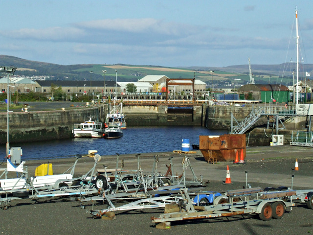 James Watt Dock Marina