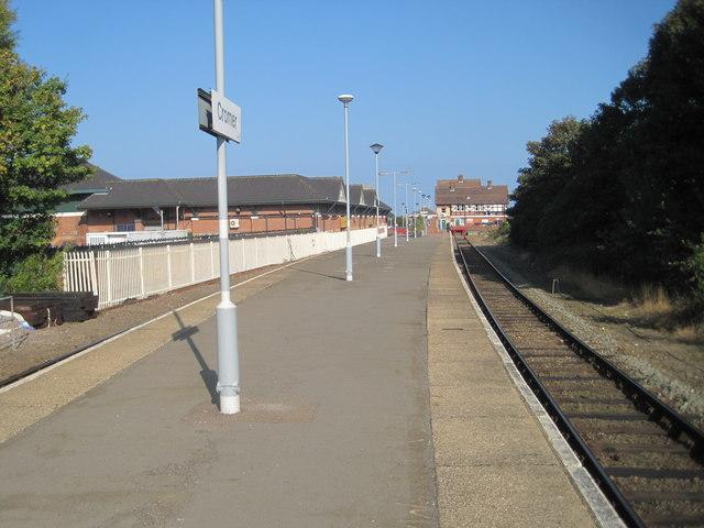 Cromer railway station, Norfolk