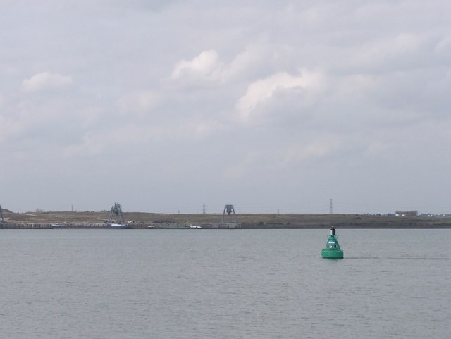 Mucking No.3 marker buoy, Lower Hope