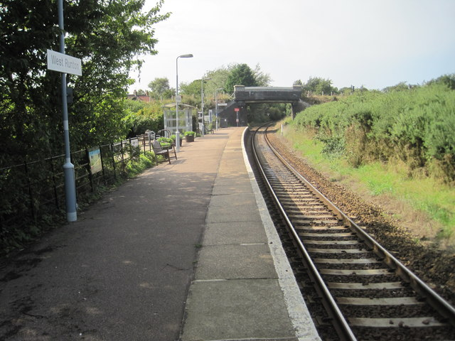 West Runton railway station, Norfolk
