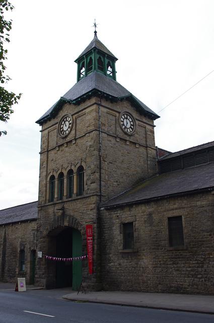 Lancaster Wagon Works - clock tower