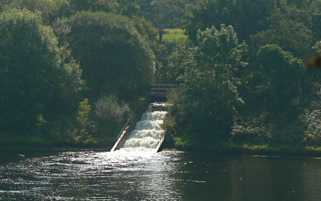 Cascade at Lower Lliw Reservoir