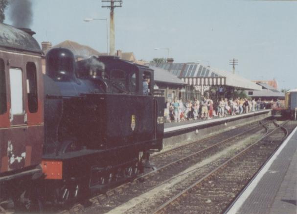 Sheringham NNR railway station, Norfolk, 1991