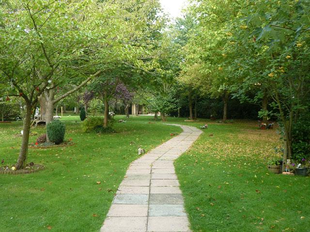 Path, Slough Crematorium