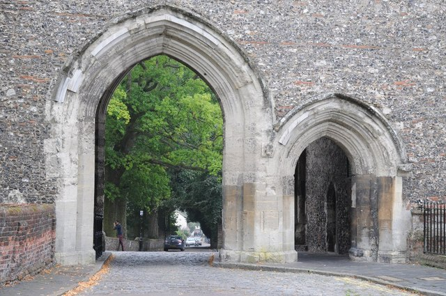 Arches in Abbey Gateway